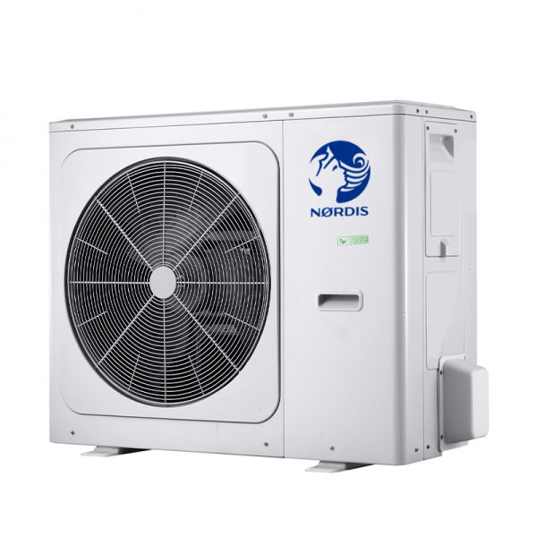 Air-to-water heat pump NORDIS Optimus Pro with Hot Water Tank Outdoor unit